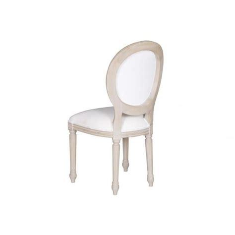 chaises bois blanc salle a manger blanc vieilli