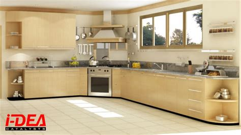 modular kitchen l shape design l shaped modular kitchen 9278