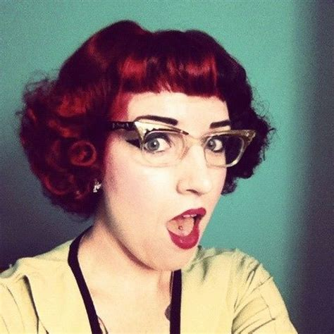Rockabilly Bangs easy updos for short hair to do yourself