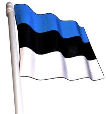 Banderas con Mastil de Estonia