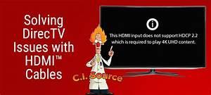 Direct Tv Hdmi Cable Error