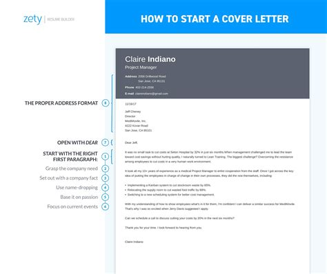 Proper Way To Start A Cover Letter by How To Start A Cover Letter Sle Complete Guide 20