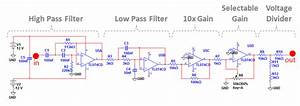 Signal Conditioning Circuit Diagram  The Input Is From The