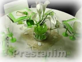 mariage avec un ã tranger mariage printemps décoration table mariage anis blanc arum