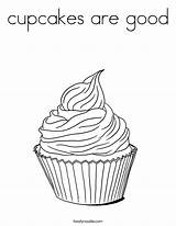 Coloring Cupcakes Cupcake Pages Built California Usa Twistynoodle sketch template