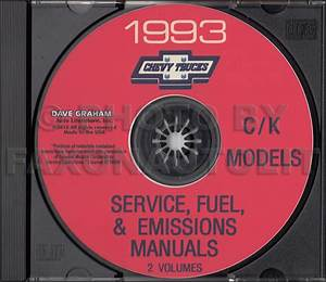 1993 Chevy 1  2  3  4   U0026 1 Ton Truck Overhaul Manual Original