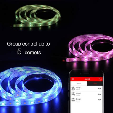 bluetooth led light strip mipow playbulb comet bluetooth smart colour led strip