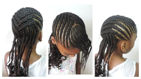 Kid Hairstyles by Back To School Hairstyle For Crisscross Cornrow