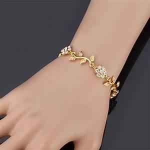 quotneptunequot bracelet femme bijoux de mariage ton or cristal With bijoux femme mariage