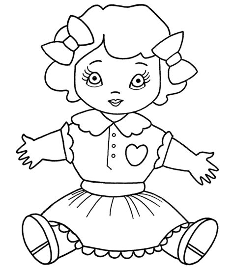coloring pictures  dolls image sketches galleries