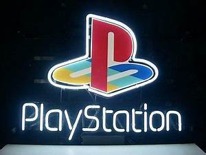 New Playstation Real Glass Neon Light Sign Home Beer Bar