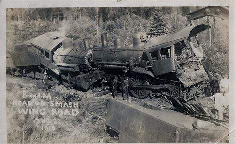 Train Wreck Head Collision