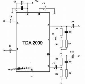 Wiring Schematic Diagram  Tda2009 2 U00d710w Power Amplifier