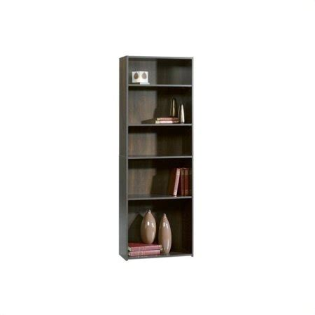 Sauder Bookcase Cherry by Sauder Beginnings 5 Shelf Bookcase In Cinnamon Cherry