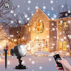 Aloveco, Led, Christmas, Projector, Lights, Outdoor, Review