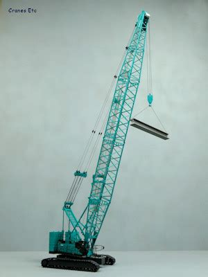 tonkin   kobelco  crawler crane cranes  model review