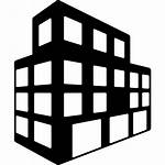 Icon Building Office Buildings Icons Block Svg
