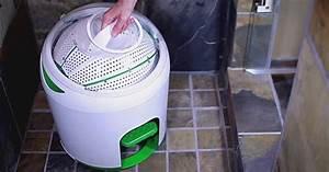 Machine A Laver Sans Evacuation : voici une machine laver portable qui n 39 a pas besoin d ~ Premium-room.com Idées de Décoration