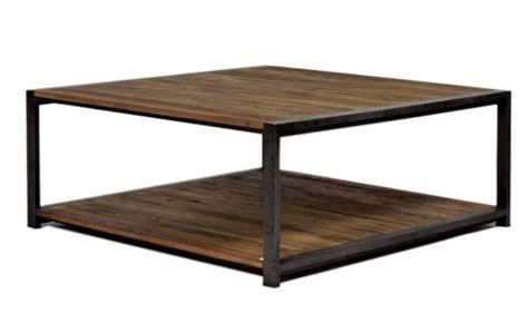 grande table de salon industrielle en m 233 tal et bois recycl 233