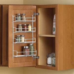 Real, Solutions, For, Real, Life, 11, 25, In, X, 4, 69, In, X, 20, In, Door, Mount, Spice, Rack, Cabinet