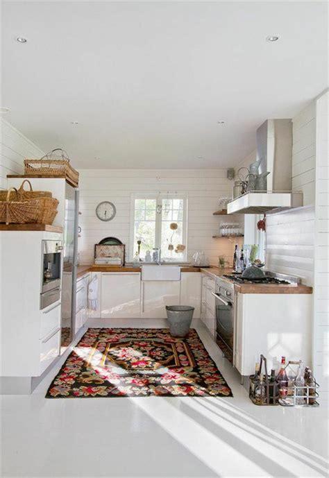 cuisine nordique choisir le meilleur tapis scandinave avec notre galerie