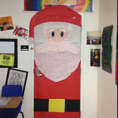 diy santa claus classroom door school door decorations door decoration ideas santa classroom school door