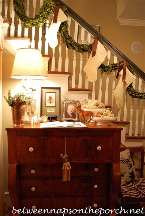 Banister Decorating Ideas by 40 Festive Banister Decorations Ideas All