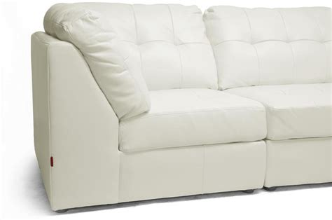 off white leather sofa set new off white or brown modern leather modular sectional