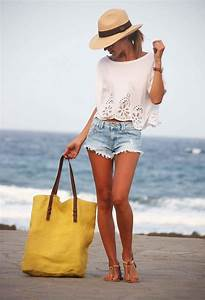 Top 10 Cool Outfits to Wear Next Time Youu2019ll Go to the Beach - crazyforus