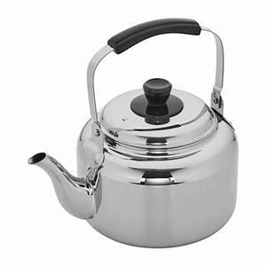 Demeyere Resto 4 2-qt Stainless Steel Tea Kettle