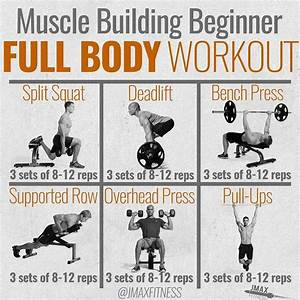 Muscle Building Full Body Workout By  Jmaxfitness
