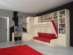 Lit Gain De Place Studio : le gain de place ~ Premium-room.com Idées de Décoration