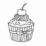 Cupcakes Coloring Kleurplaten Cupcake Kleurplaat Adult Dibujos Colorear Drawing Kinder Colouring Hochzeit Spiele Ice Printable Sheets Tekening Books Cake Voor sketch template