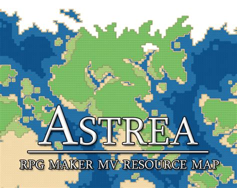 Astrea Rpg Maker Mv Resource Map By Ladyluck