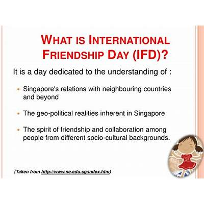 2012 international friendship day year 5 6