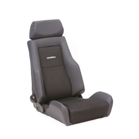 siege baquet corbeau recliner seats the seat non recliner is a