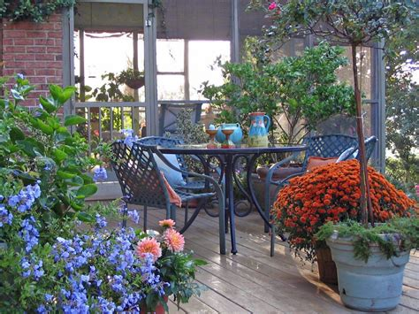 decorating tips to warm winter decks hgtv