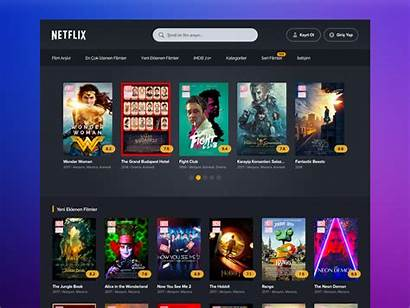 Template Movies Dribbble Netflix Poster Tv Play