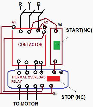 how to wire a compressor with contactor search corne starters