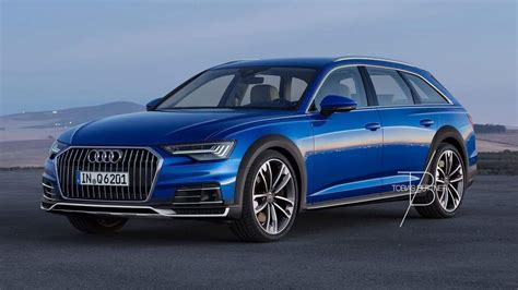 2019 audi allroad 2019 audi a6 allroad rendered looks properly rugged