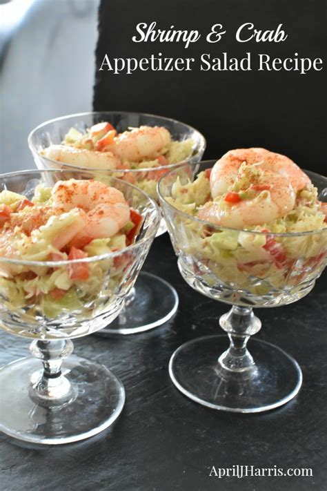 Kick up your seafood spread with my best spicy shrimp recipes. Shrimp and Crab Appetizer Salad Recipe - April J Harris