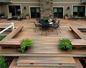 modele de terrasse exterieur carrelage salle de bain With modele de terrasse en bois exterieur