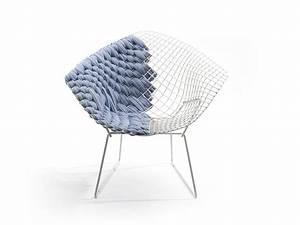 Bertoia Diamond Chair : transfiguration of harry bertoia s legendary chair ~ A.2002-acura-tl-radio.info Haus und Dekorationen