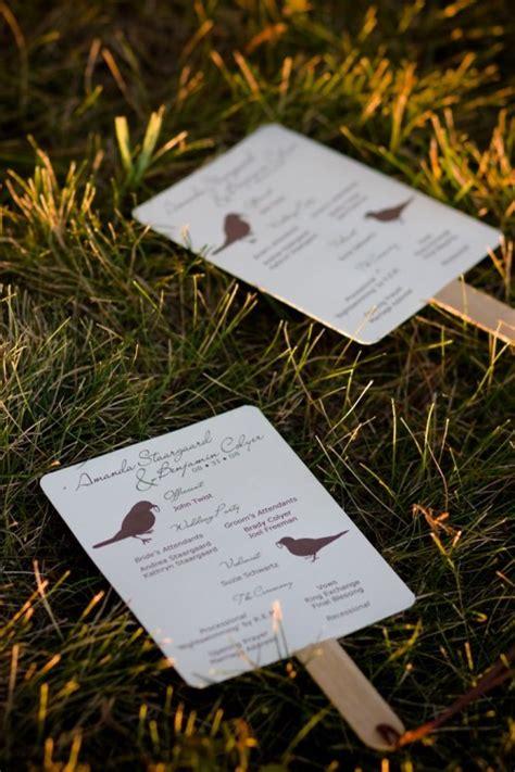 free wedding program fan a up of free wedding fan programs b lovely events