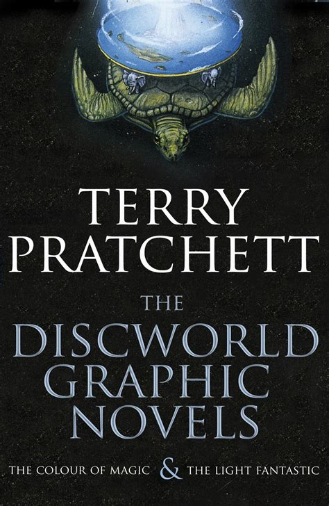the light fantastic the discworld graphic novels the colour of magic and the