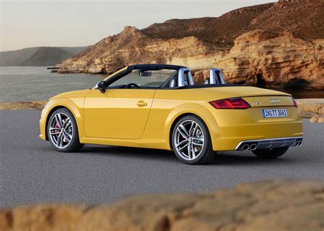 2015 Audi Tt & Tt S Roadster Unveiled