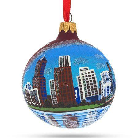 portland ornaments christmas portland oregon glass ornament 3 25 inches walmart