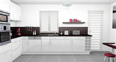 cuisines blanches et grises cuisine moderne grise et blanche collection et cuisine