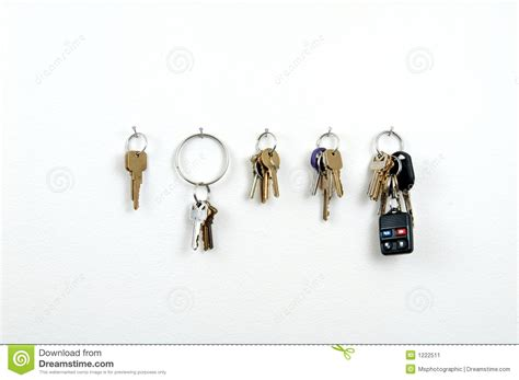 Key Rack Stock Image
