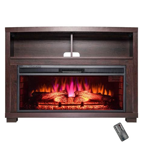 electric fireplace insert installation akdy 44 in freestanding electric fireplace insert heater